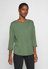 edc by Esprit - CORE - Long sleeved top - khaki green - 0