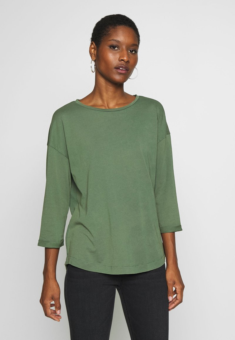 edc by Esprit - CORE - Long sleeved top - khaki green