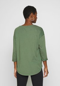 edc by Esprit - CORE - Long sleeved top - khaki green - 2