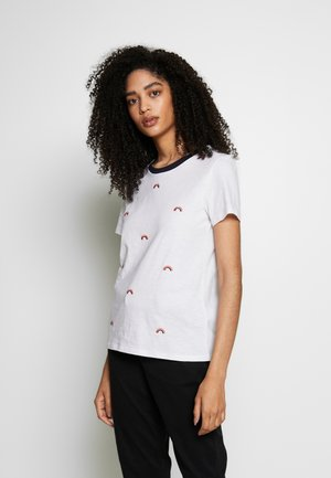 CORE SLUB - T-Shirt print - white