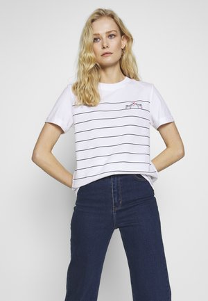 CORE - T-shirt con stampa - white