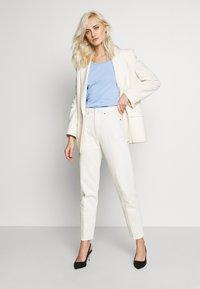 edc by Esprit - CORE FLOW  - T-shirts med print - blue lavender - 1