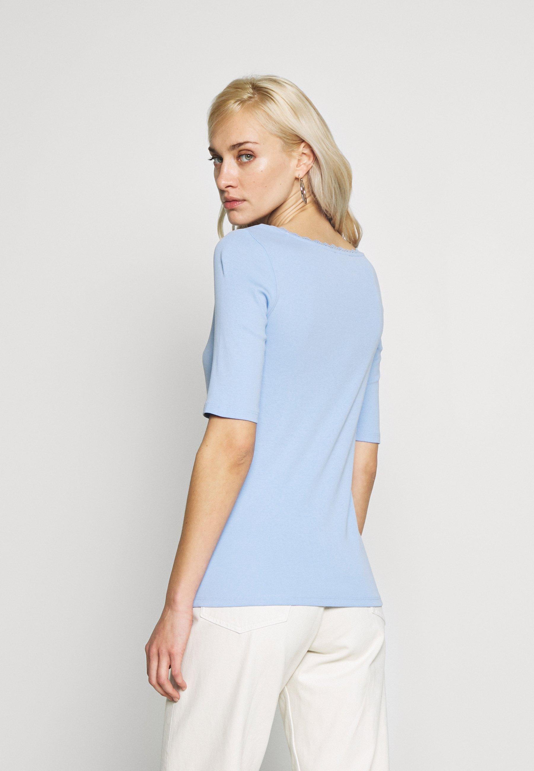 edc by Esprit CORE FLOW  - T-shirts med print - blue lavender