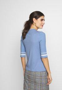 edc by Esprit - CREW  - T-shirt print - blue lavender - 2
