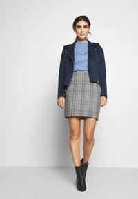 edc by Esprit - CREW  - T-shirt print - blue lavender - 1