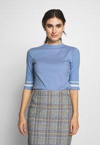edc by Esprit - CREW  - T-shirt print - blue lavender - 0
