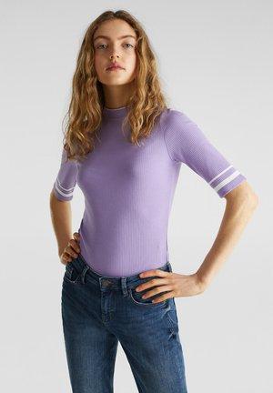 CREW  - T-shirt imprimé - lilac