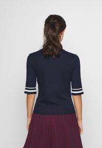edc by Esprit - CREW  - T-shirt imprimé - navy - 2