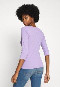 edc by Esprit - CORE WIDE - Camiseta de manga larga - lilac - 2