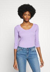 edc by Esprit - CORE WIDE - Camiseta de manga larga - lilac - 0