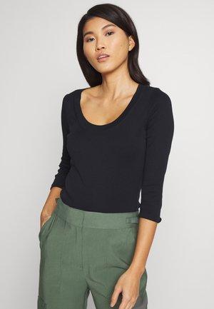 CORE WIDE - Long sleeved top - black