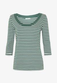 edc by Esprit - FLOW  - Topper langermet - khaki green - 4