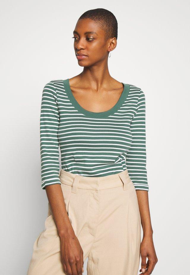 FLOW  - Bluzka z długim rękawem - khaki green