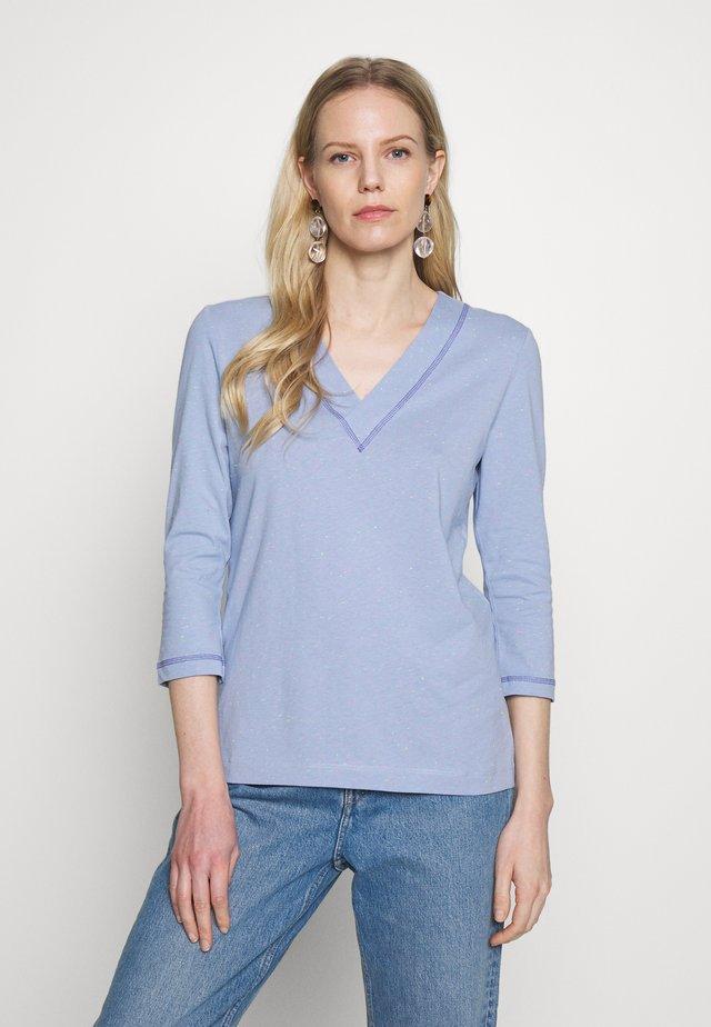 NEPPY - Long sleeved top - grey blue