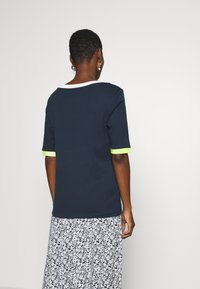 edc by Esprit - Print T-shirt - navy - 2