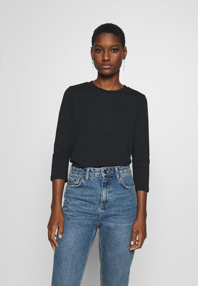 RAINBOW TAP - Bluzka z długim rękawem - black
