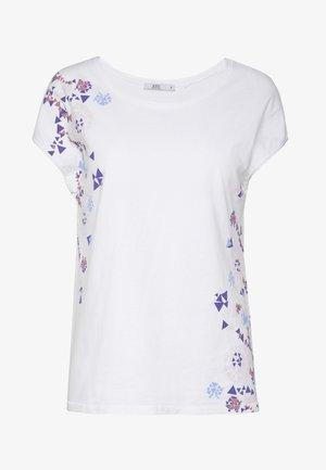 SHOULDER - T-shirts med print - white