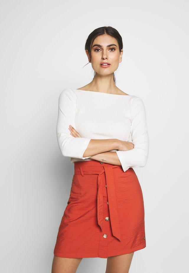 BALLERINA - Maglietta a manica lunga - off white