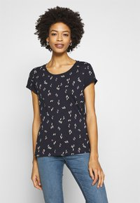 edc by Esprit - CORE - T-shirts med print - navy - 0