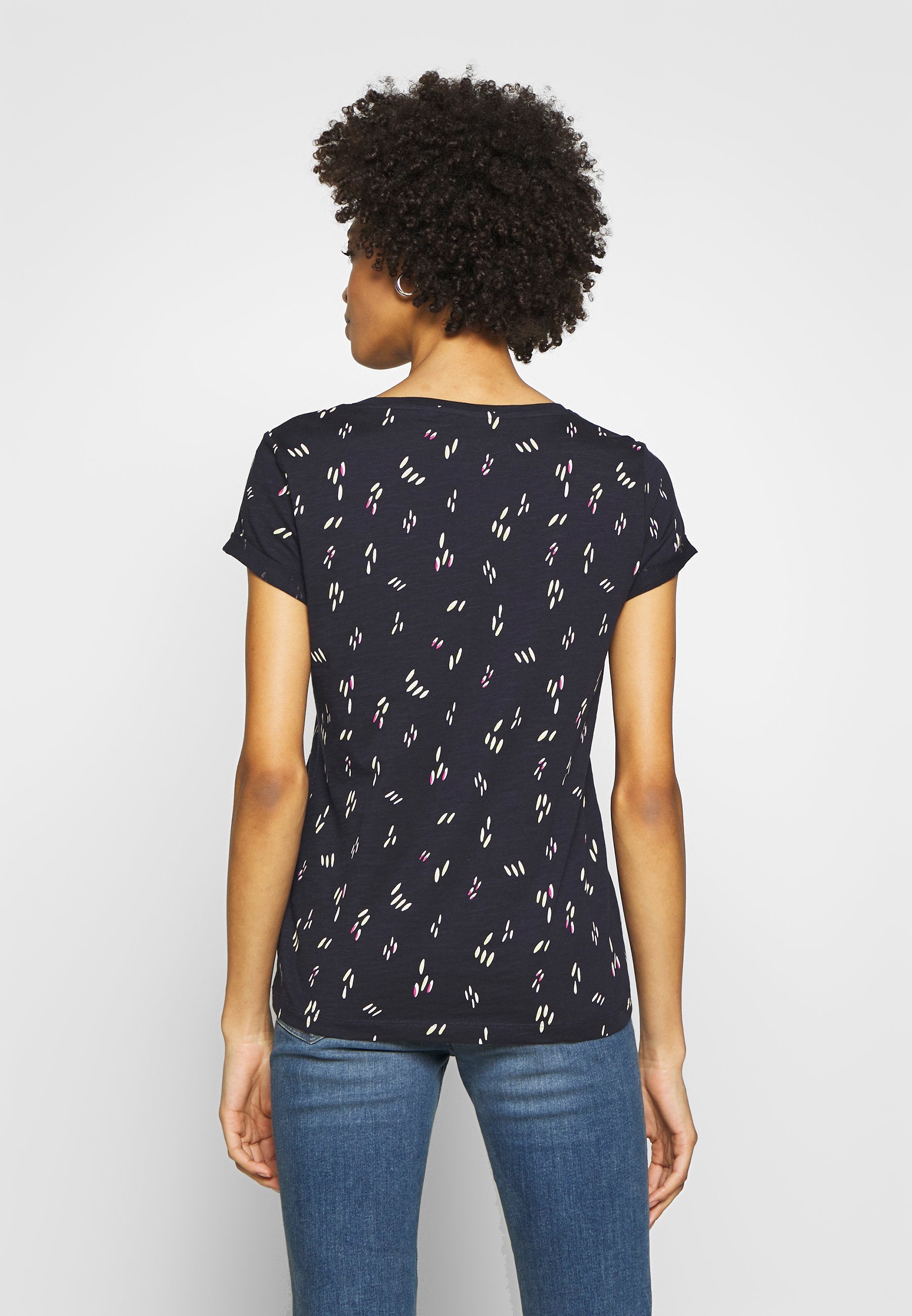 edc by Esprit CORE - T-shirts med print - navy