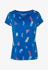 edc by Esprit - CORE - T-shirts med print - bright blue - 4