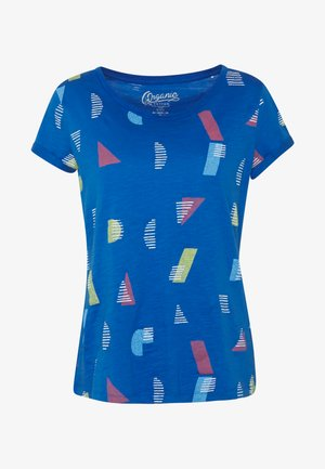 CORE - T-shirt print - bright blue