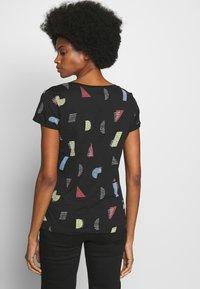 edc by Esprit - CORE - T-shirts med print - black - 2