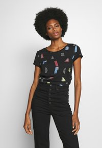 edc by Esprit - CORE - T-shirts med print - black - 0