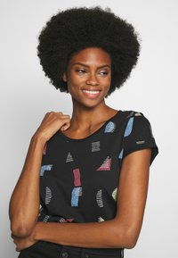edc by Esprit - CORE - T-shirts med print - black - 3