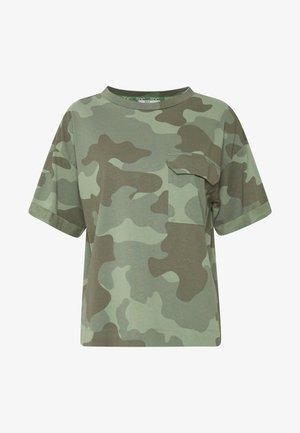 CAMO TEE - T-shirt imprimé - khaki green