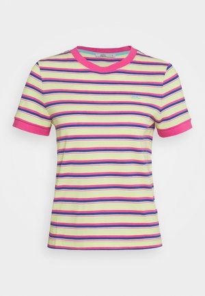 MULTI - T-shirts med print - pink fuchsia