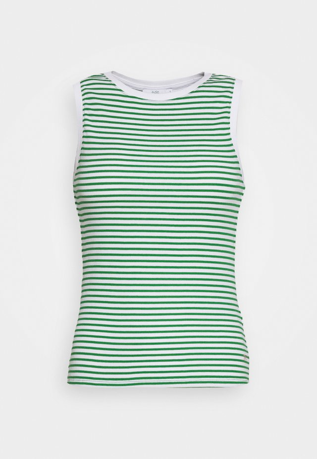 STRIPE TANK - Top - green