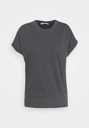 GARMENT DYE  - Jednoduché triko - black