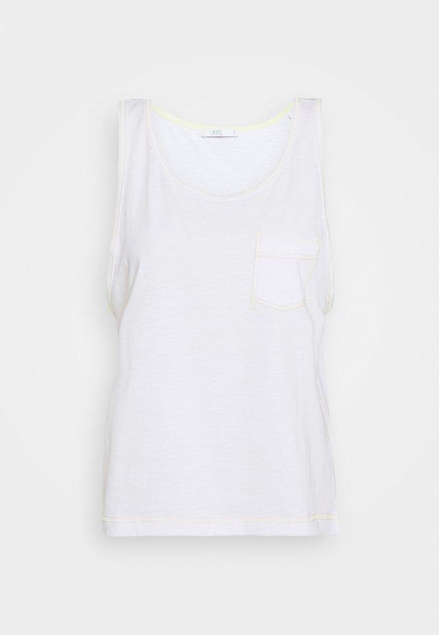 CORE MULTI STRI - Top - white