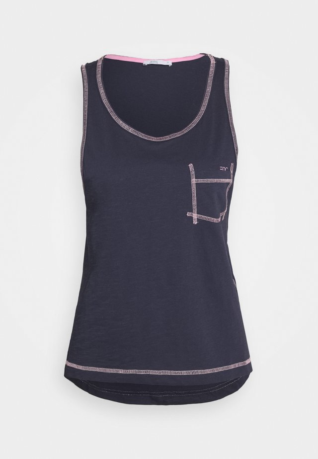 CORE MULTI STRI - Top - navy