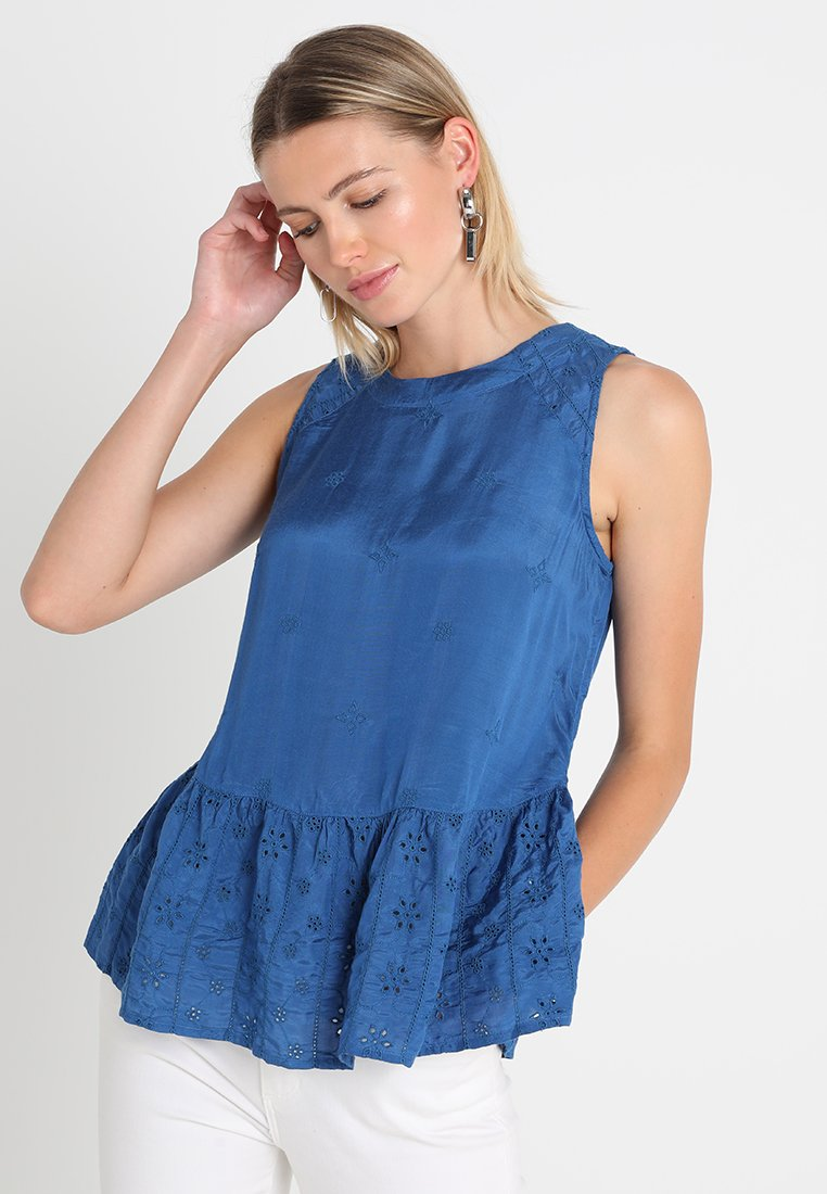 edc by Esprit - FAB MIX  - Bluse - blue