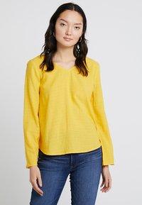 edc by Esprit - SOFT - Blouse - honey yellow - 0