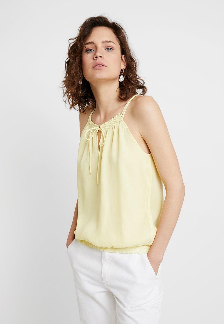 edc by Esprit - Top - light yellow
