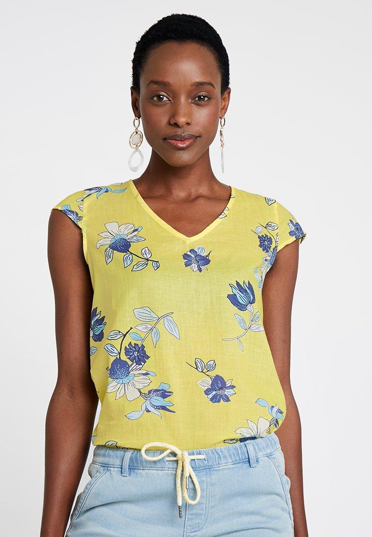 edc by Esprit - SOFT - Bluse - light yellow