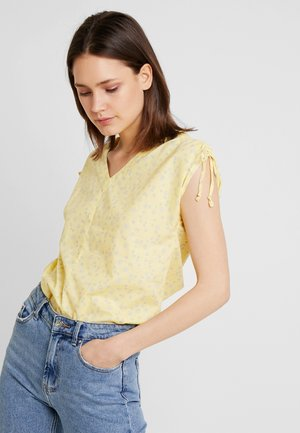 SOFT VOILE - Blouse - light yellow