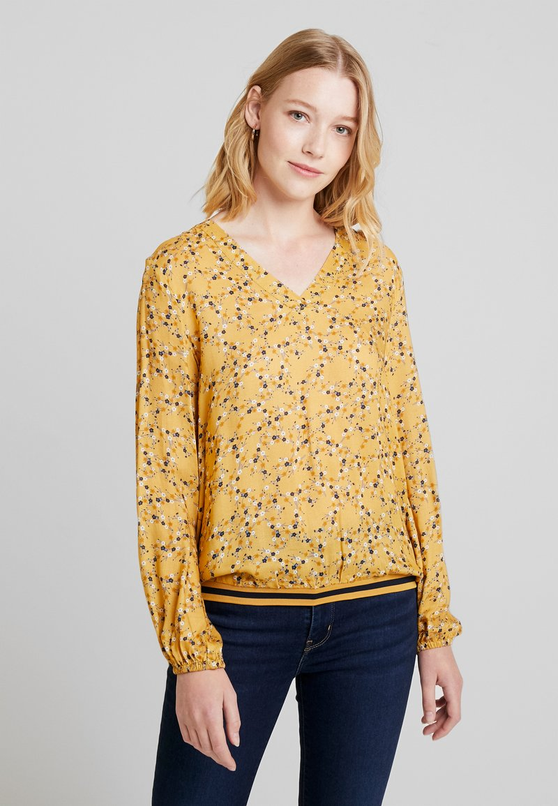 edc by Esprit - FLUENT - Bluse - honey yellow