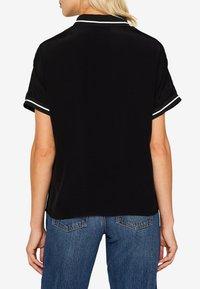 edc by Esprit - MIT ZIPPER - Poloshirt - black - 5