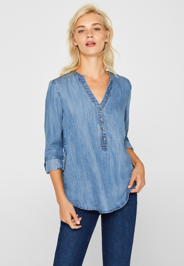 edc by Esprit - Bluse - blue medium