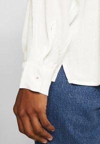 edc by Esprit - NEW SLUB - Skjorte - off white - 4