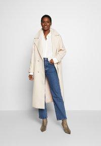 edc by Esprit - NEW SLUB - Skjorte - off white - 1