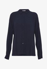 edc by Esprit - NEW SLUB - Button-down blouse - navy - 4