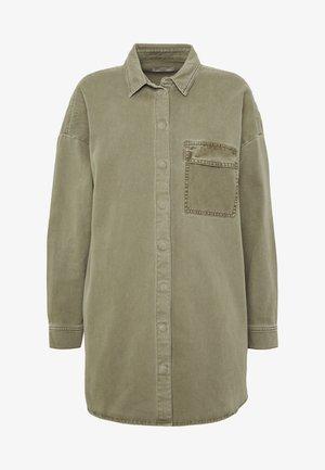 Košile - khaki green