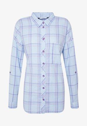 ZINDEL DOUB - Skjorte - blue/lavender