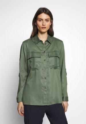 Overhemdblouse - khaki green