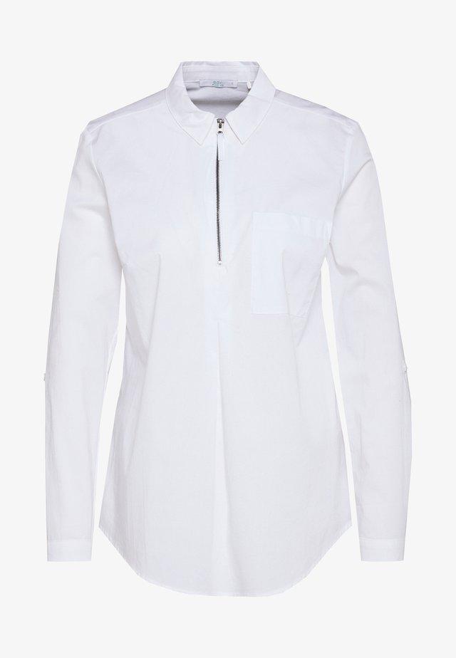 ZIPPER - Bluzka - white